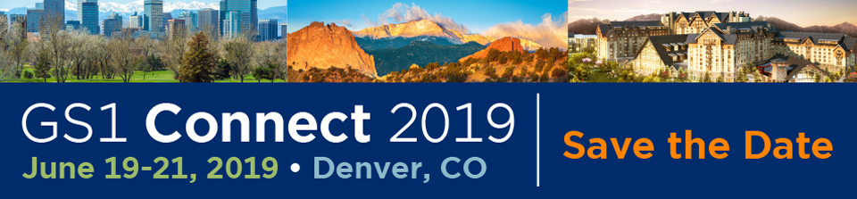 Save The Date: GS1 Connect 2019