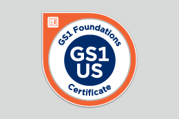 GS1 Foundations Certificate badge