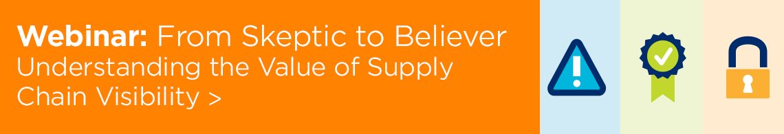 Webinar Understanding the Value of Supply Chain Visibility