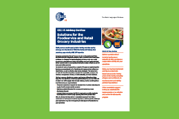 Foodservice and Retail Grocery Advisory Services Flyer