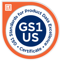 GS1 Online Traceability Certificate badge