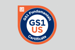 GS1 Fundamentals Certificate badge
