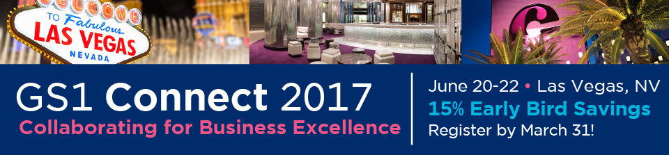 GS1 Connect 2017 Register Today